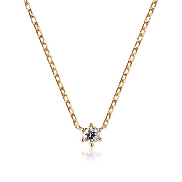 「ミルククラウン」ネックレス・ダイヤモンド