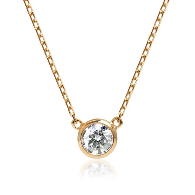 「ダイヤ メゾ」ネックレス